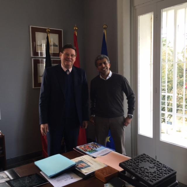 Ambassade van Belgie in Marokko